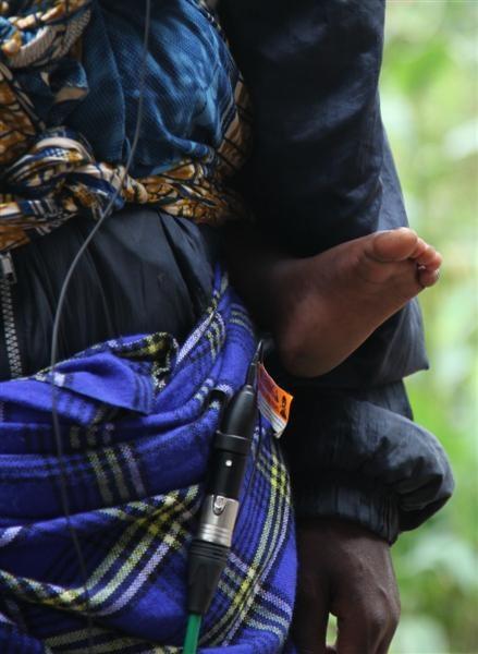 Birara Batwa baby