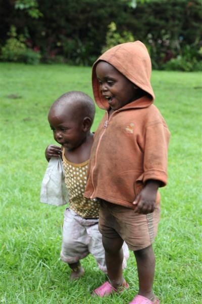 Children of the Kabahenda Batwa Community