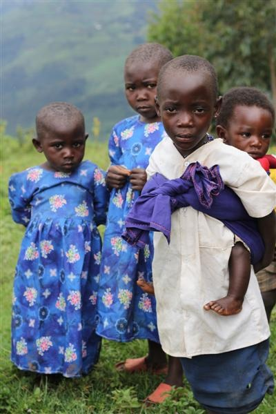 Batwa children from Birara Community Kisoro