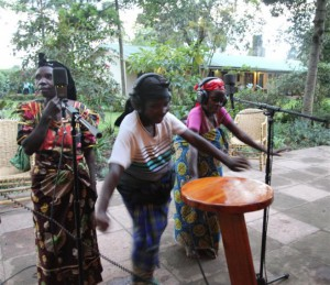 Birara Dancers at Traveller's Rest Hotel Kisoro for Singing Wells Project