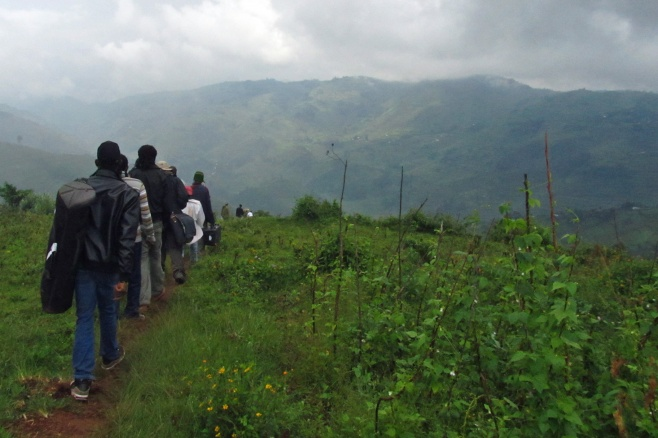 Singing Wells project leaving Birara Batwa community