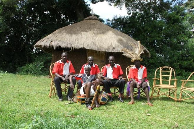 Organda Joginda and the Joginda boys play for Singing Wells project