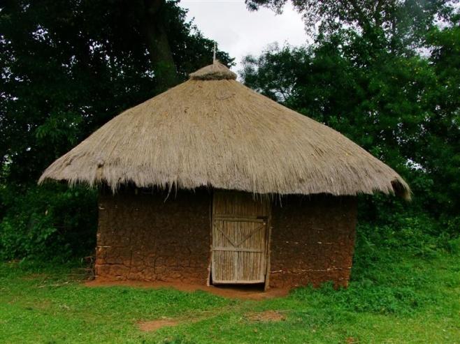 Traditional hut in Kisumu Kenya