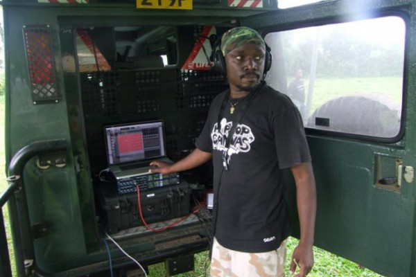 Steve Kivutia - sound engineer Ketebul Music and Singing Wells