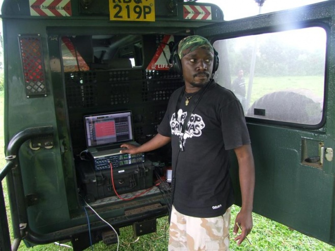 Steve Kivutia (Ketebul Music) - chief engineer for Singing Wells