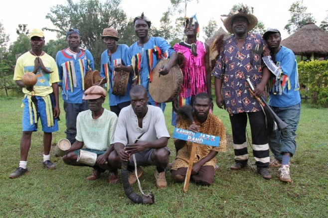 Kanindi Jazz Band from Rongo