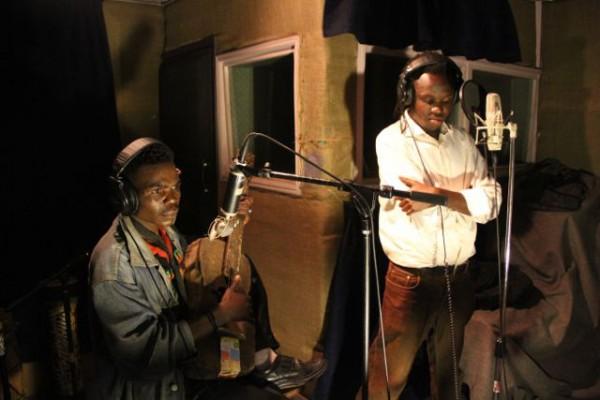 Tiny Moses with Winyo at Ketebul Studios