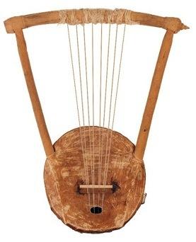 Nyatiti - instrument of the Luo