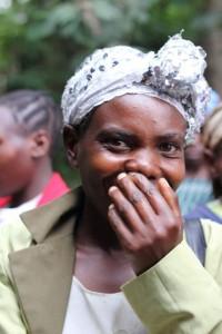 Kabahenda Batwa woman