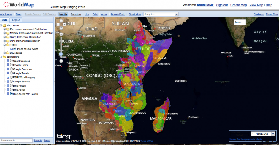 The Tribal and Musical Structure of East Africa – Worldmap Research ...