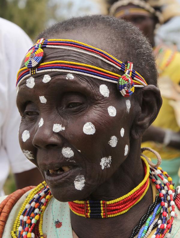 Kalenjin woman