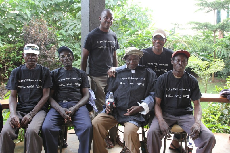 Bukuseka in SWP tshirts