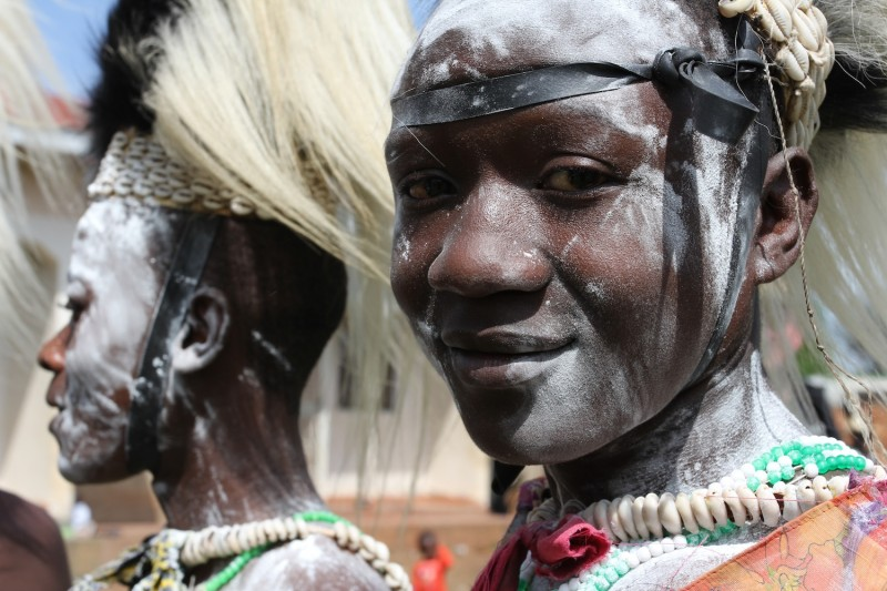 Elgon Ngoma Troupe faces