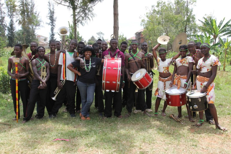 Elgon Ngoma Troupe with Jacinta
