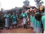 Mperwa Batwa dancing