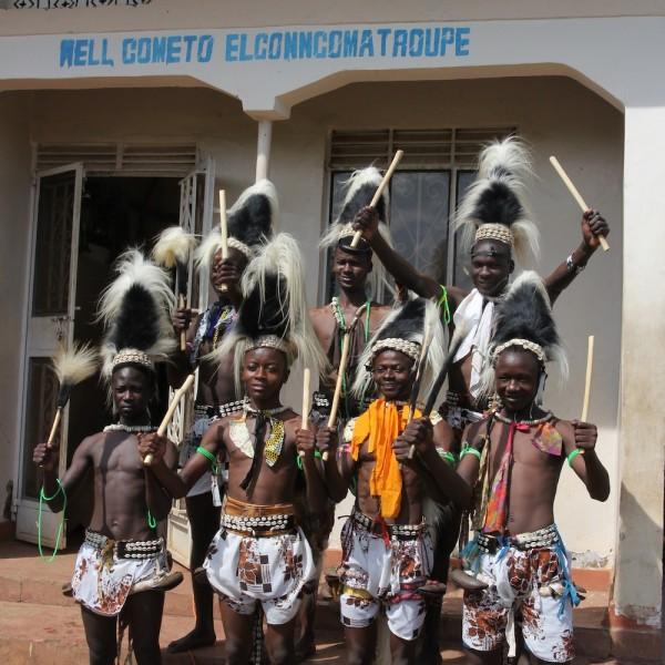 Elgon Ngoma troupe (boys)